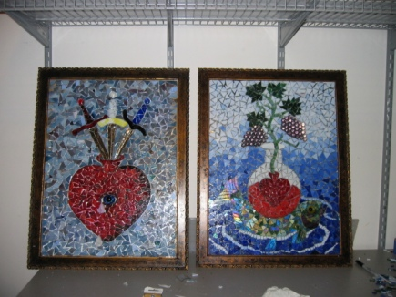 Alchemical Tarot Mosaic by Leisa ReFalo