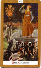 Golden Tarot Chariot