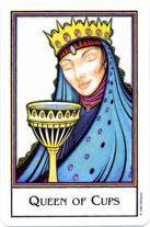 The New Palladini Tarot, Queen of Cups