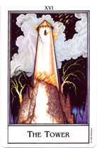 The New Palladini Tarot, The Tower