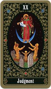 Russian Tarot of St. Petersburg, Judgment