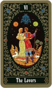 Russian Tarot of St. Petersburg, Lovers
