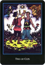 World Spirit Tarot, 2 Cups