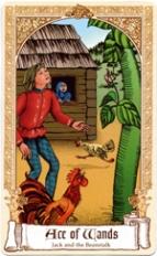 The Fairytale Tarot, Ace of Wands
