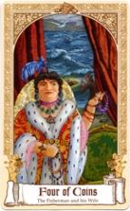 The Fairytale Tarot, Four of Coins