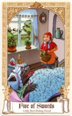 The Fairytale Tarot, Five of Swords