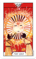 Tarot of the Southwest Sacred Tribes, The Sun