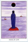 Tarot of the Crone, Four of Cups