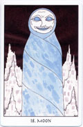 Tarot of the Crone, Moon