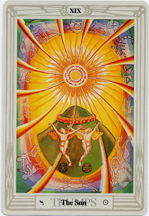 Thoth Tarot, The Sun