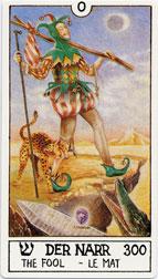 Eclectic Tarot, The Fool