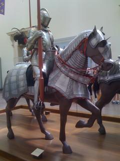 Knight at the Metropolitan Museum