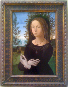 Lorenzo di Credi's Portrait of a Young Woman at the Metropolitan Museum of Art