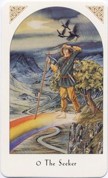 Arthurian Tarot, Seeker