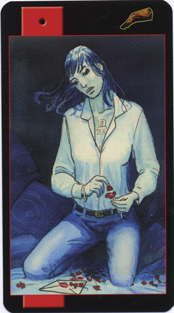 Gothic Vampire Tarot, 1 of Wands