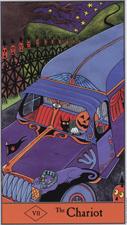 Halloween Tarot, The Chariot