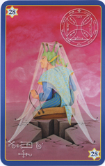 KIng Solomon Oracle Cards, 28