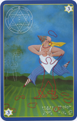 King Solomon Oracle Cards, 3