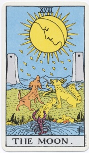 Rider-Waite Tarot, The Moon
